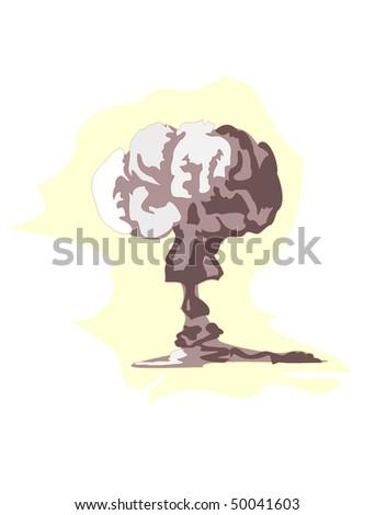 vector illustration of atomic