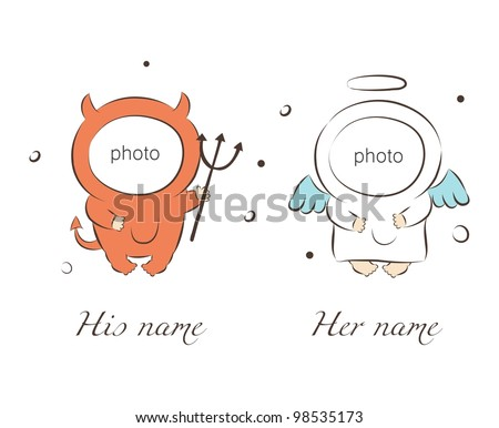 vector illustration of babies