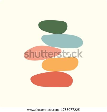 vector illustration of balance