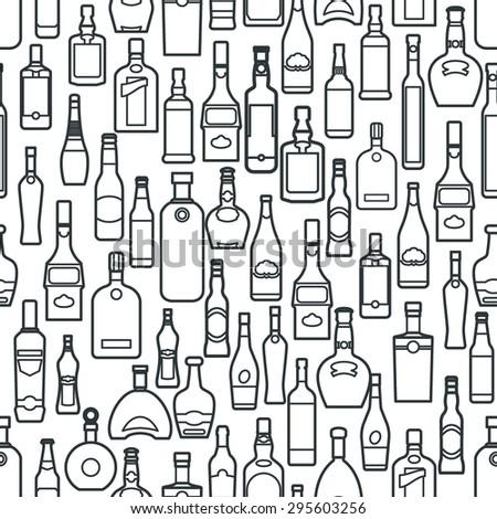 vector illustration of bar