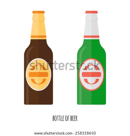 vector illustration of  beer
