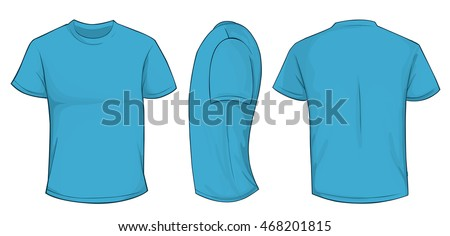 Realistic White Blank T Shirt Template Download Free Vector Art
