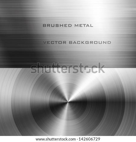 vector illustration of brushed