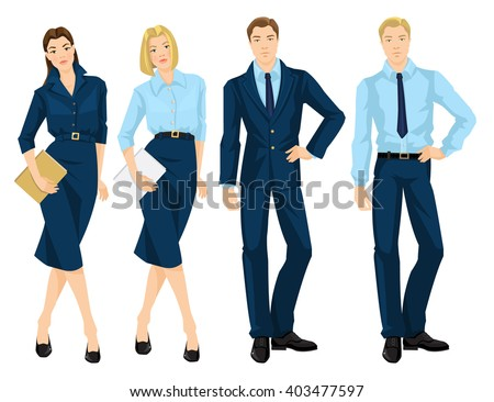 vector illustration of business