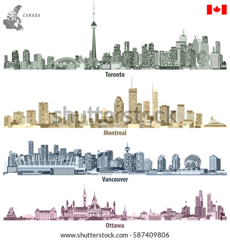 vector illustration of canadian