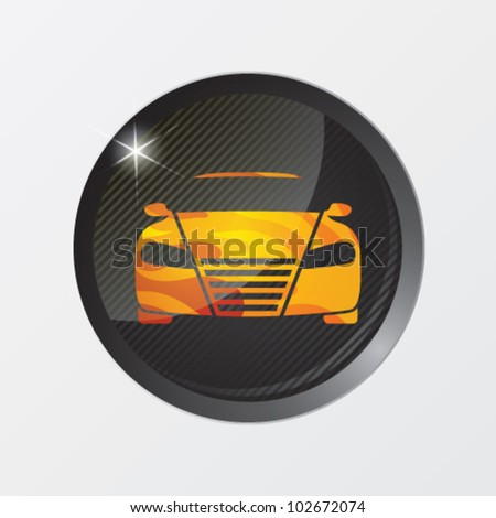 Vector illustration of car