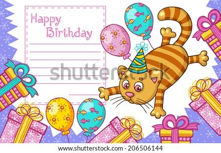 Comic Happy Birthday Illustration Download Free Vector Art – Comic Birthday Greetings