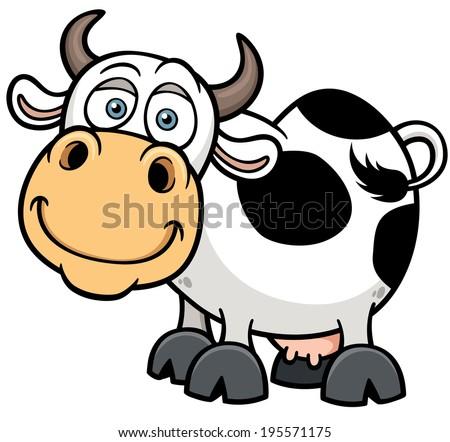 stock-vector-vector-illustration-of-cartoon-cow