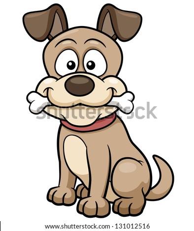 stock-vector-vector-illustration-of-cartoon-dog