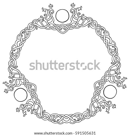 vector illustration of celtic