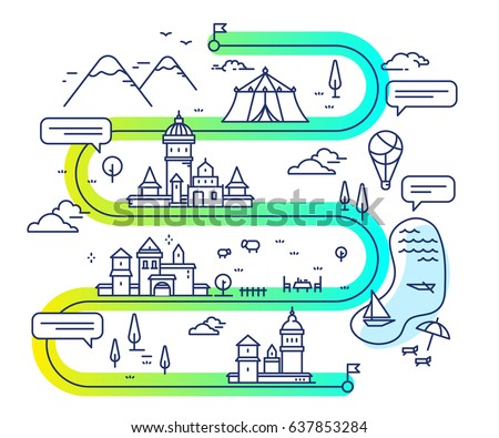 vector illustration of city