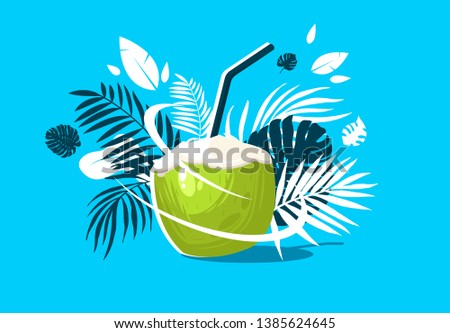 vector illustration of cocktail