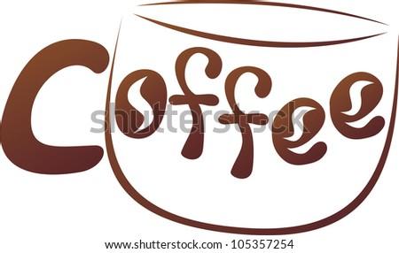 Vector illustration of coffee