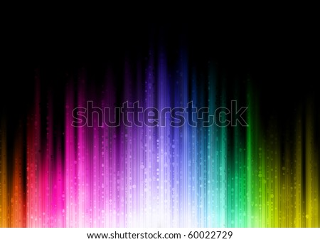 ... abstract background with blurred magic neon light lines - stock vector