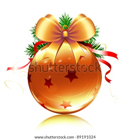 Vector illustration of cool Christmas decoration
