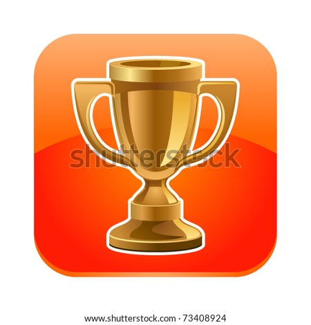 Vector illustration of cup icon