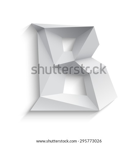 vector illustration of 3d
