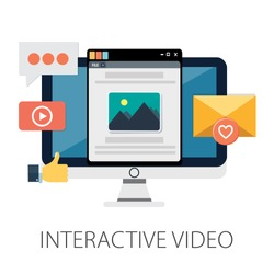 Vector illustration of development & technology concept with