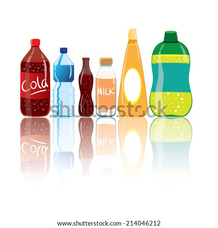 vector illustration of drink