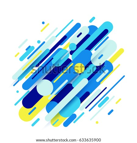 vector illustration of dynamic