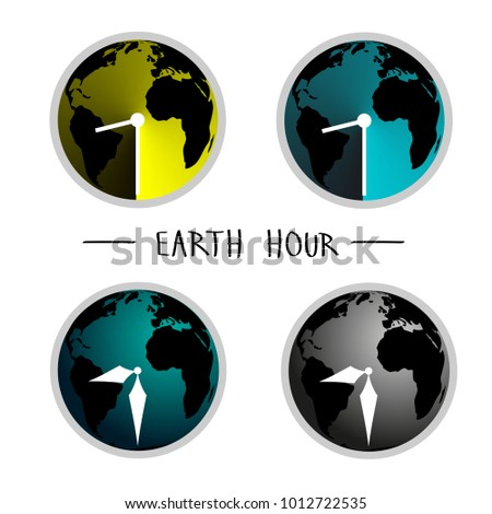 vector illustration of earth