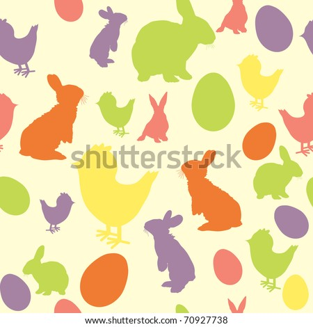 Vector illustration of Easter background