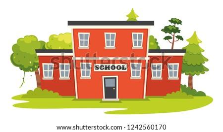 Vector Illustration Of Education Elements