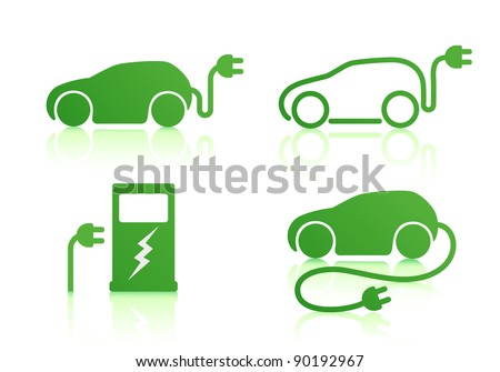 vector illustration of electric