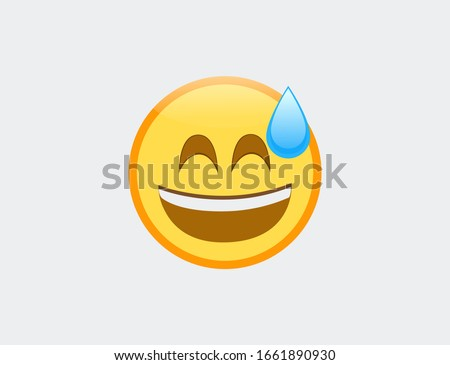 vector illustration of emoji
