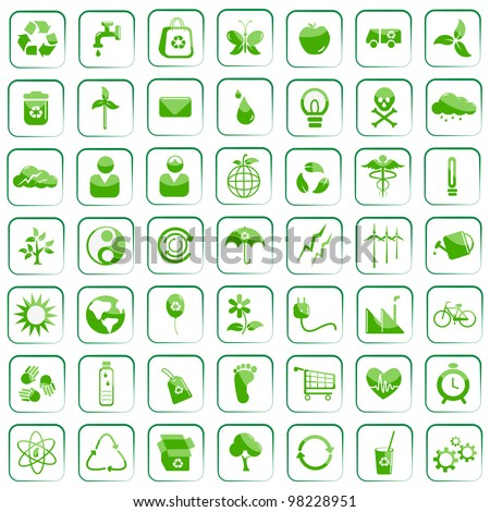 vector illustration of  environment icon against isolated background