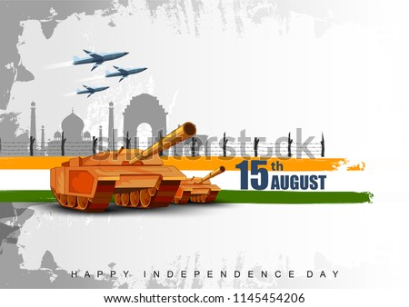 stock-vector-vector-illustration-of-famous-monument-of-india-in-indian-background-for-th-august-happy