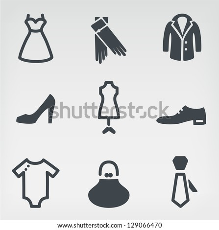 Vector illustration of fashion