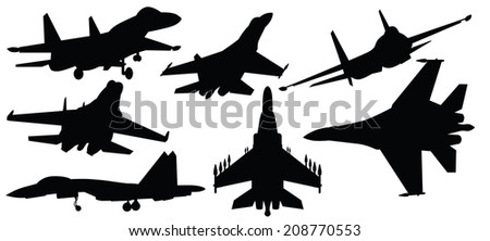 vector illustration of fighter