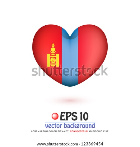 vector illustration of flag of