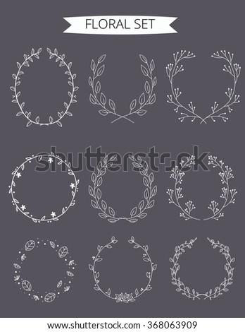 vector illustration of floral