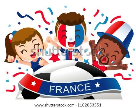 vector illustration of france