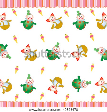 collection of cute starfish background, illustration - stock vector