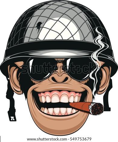 vector illustration of funny
