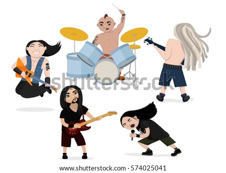 vector illustration of funny