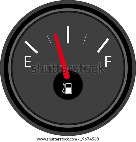 Vector Illustration of gas full set