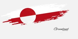 Vector illustration of Greenland national day June 21.