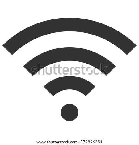 Vector Illustration of Grey Wifi Icon