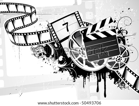 vector illustration of grunge