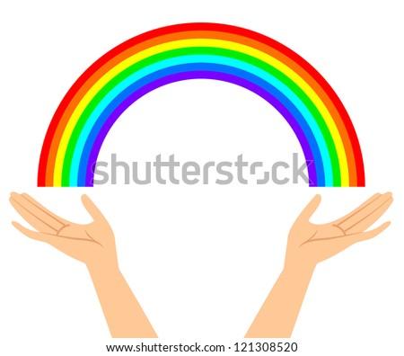 vector illustration of hands