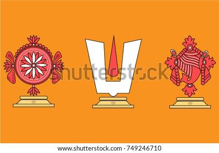 vector illustration of hindu