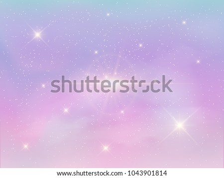 stock-vector-vector-illustration-of-holographic-fantasy-background-and-pastel-color