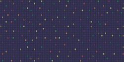 vector illustration of  horizontal banner with binary computer code in dark colors with random highlights