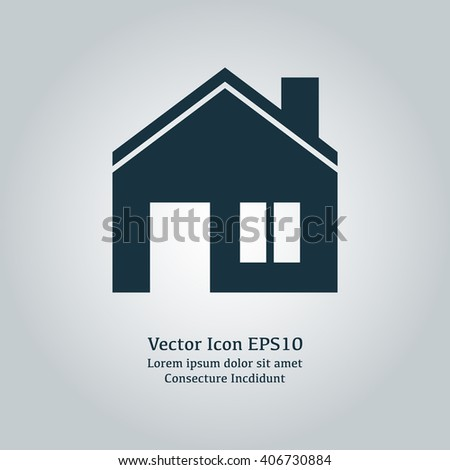 Vector illustration of house icon