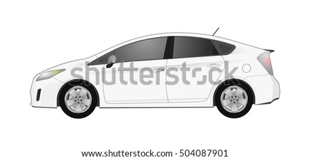 vector illustration of hybrid