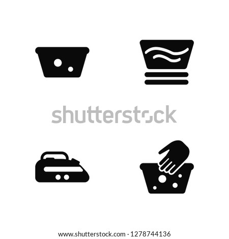 vector illustration of 4 icons